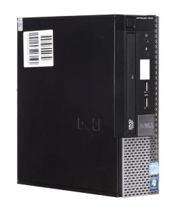 DELL OptiPlex 7010 i5-3470S 4GB 120GB SSD DVD USFF Win7pro UŻYWANY