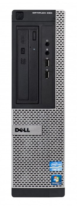 DELL OptiPlex 390 i3-2100 4GB 250GB DVDRW DESKTOP Win7pro UŻYWANY